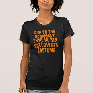 Camiseta Traje do Dia das Bruxas