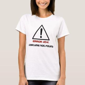 Camiseta Traje do erro 404 não encontrado
