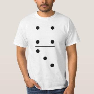 Camiseta Traje do grupo dos dominós 4-3