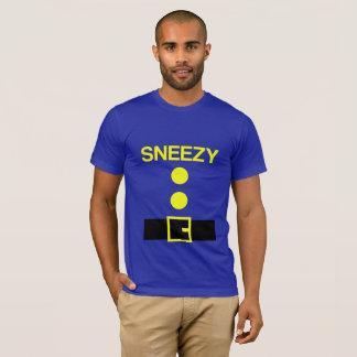 Camiseta Traje do partido do anão do Dia das Bruxas