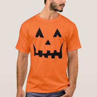 Camiseta traje jackolantern da jaque-o-lanterna do Dia das