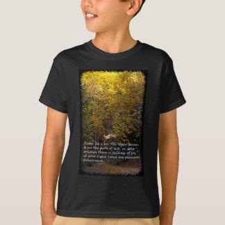 Camiseta Trajeto do 16:11 do salmo