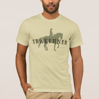 Camiseta TRAKEHNER com cavalo & cavaleiro do adestramento