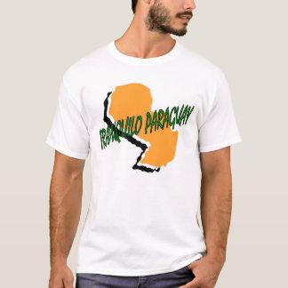 Camiseta tranquilo Paraguai