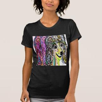 Camiseta Transição da cor da caniche