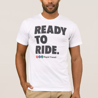 Camiseta Trânsito rápido de RVA pronto para montar