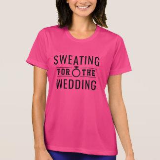 Camiseta Transpiração para o casamento