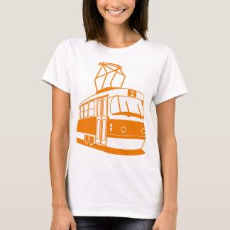 Camiseta Transporte do bonde elétrico