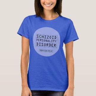 Camiseta Transtorno de personalidade esquizóide