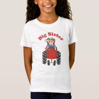 Camiseta Trator do vermelho da irmã mais velha
