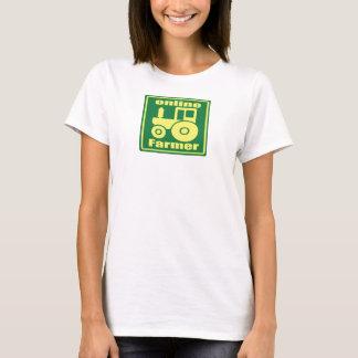 Camiseta trator verde