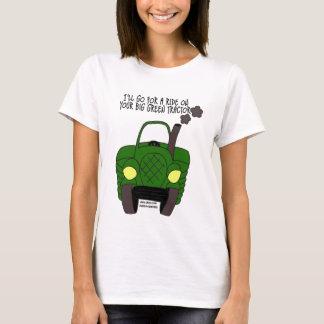 Camiseta Trator verde grande