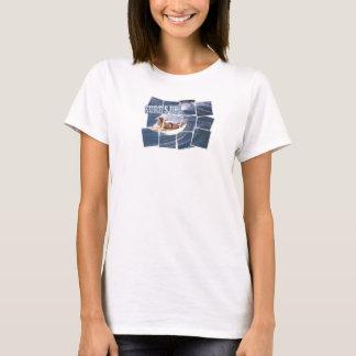 Camiseta Trave a onda!  Surf acima!