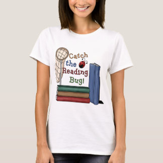 Camiseta Trave o inseto da leitura