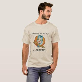 Camiseta Trazendo o acampamento a Campit