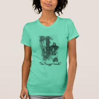 """Camiseta """"TREE-HUGGER PARA DENTRO! """"T-shirt"""