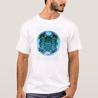 Camiseta Treehuggers une-se (a turquesa)