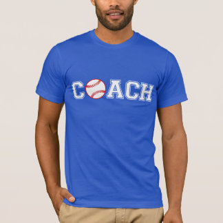 Camiseta Treinador de basebol
