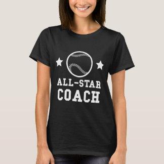 Camiseta Treinador de basebol de All Star