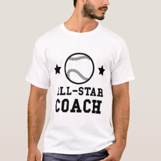 Camiseta Treinador de basebol de All Star