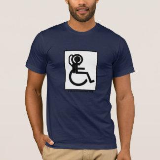 Camiseta Treinamento do astronauta da cadeira de rodas