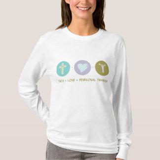 Camiseta Treinamento pessoal do amor da fé