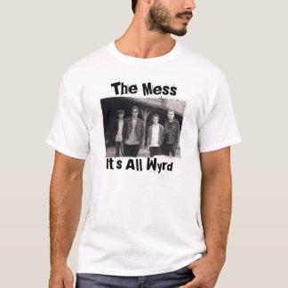 Camiseta Treine, a confusão, ele é todo o Wyrd