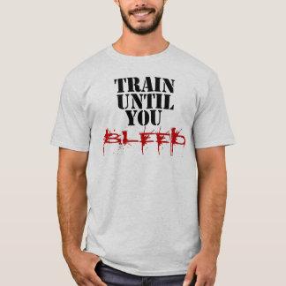 Camiseta Treine até que você sangre