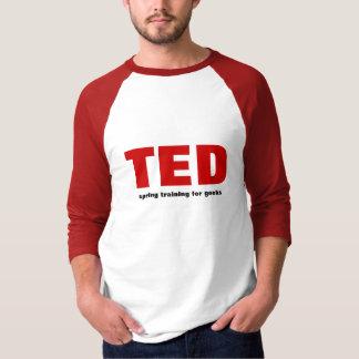 Camiseta Treino primaveril de TED para geeks