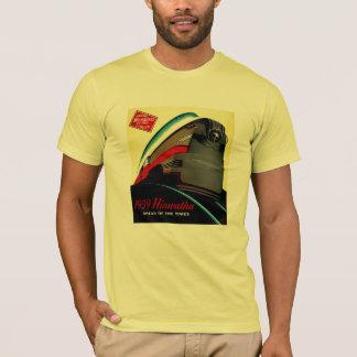 Camiseta Trem aerodinamizado Hiawatha do vintage