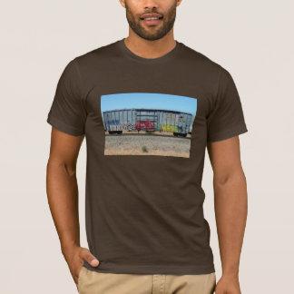 Camiseta Trem azul dos grafites