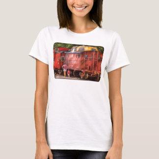 Camiseta Trem - Caboose de Pensilvânia, região nortista