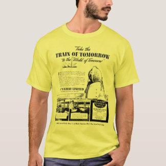 Camiseta Trem da estrada de ferro da central de New York do