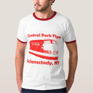Camiseta Trem do insecto do Central Park do t-shirt de