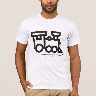 Camiseta trem, vidro, Enfranchisement expresso -
