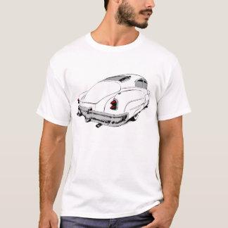 Camiseta Trenó 1950 da ligação de Buick no branco com