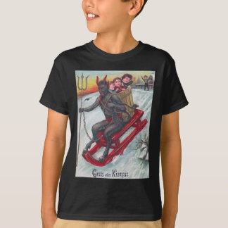 Camiseta Trenó de Krampus
