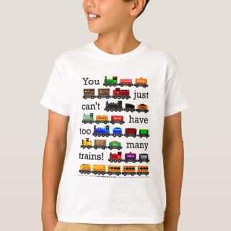 Camiseta Trens demais