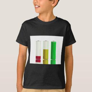 Camiseta Três baterias