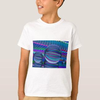 Camiseta Três bolas de vidro na cor