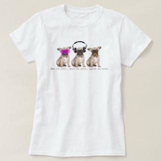 Camiseta Três cães sábios de Bull