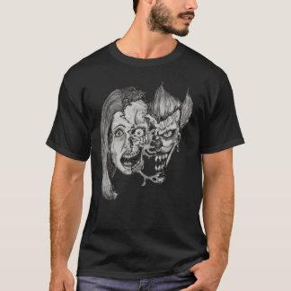 Camiseta três caras do t-shirt do inferno