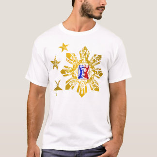 Camiseta Três estrelas e um Sun