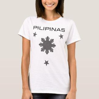 Camiseta Três estrelas & um Sun