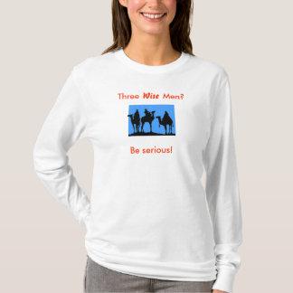 """Camiseta Três homens """"sábios"""""""