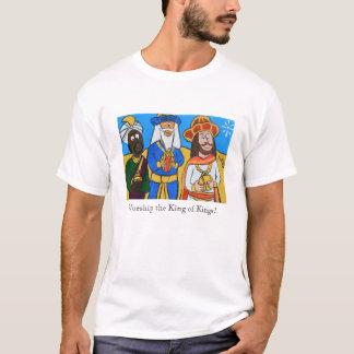 Camiseta Três homens sábios por Joel Anderson - meio adulto
