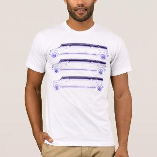 Camiseta três hummers do limo