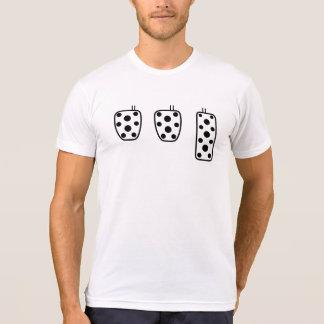 Camiseta Três pedais