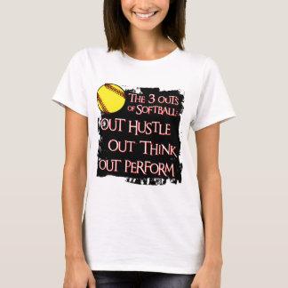 Camiseta Três saídas, pretas