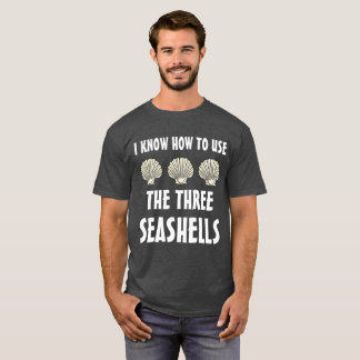 Camiseta Três Seashells Meme